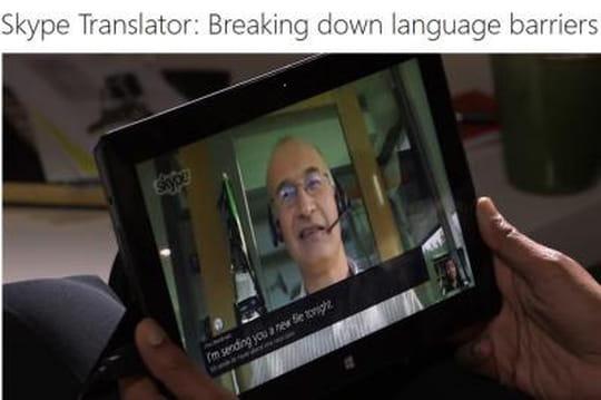 Skype en route vers la traduction instantanée
