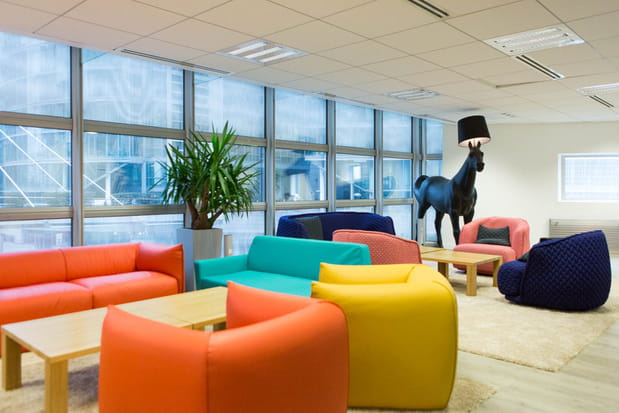 Un espace lounge