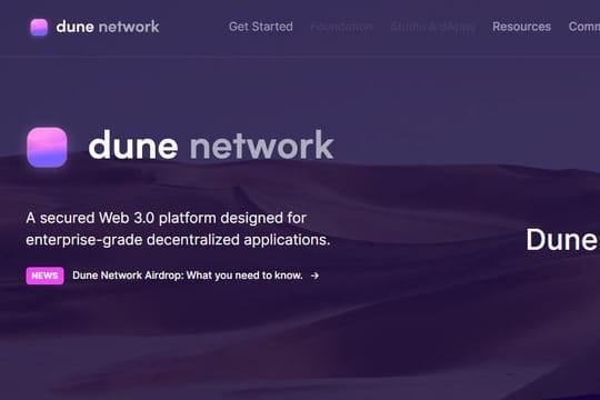 L'ambitieuse blockchain française Dune lance un incubateur