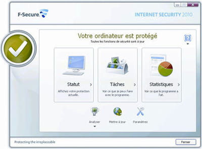 difficile de proposer une interface plus simple