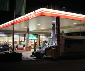 le prix du gazole dans les stations avia a baissé de 3,87% en 2009.