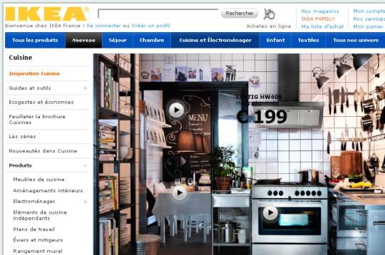 Site Internet Ikea