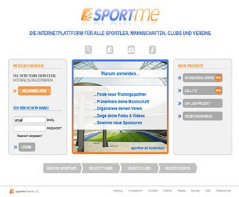 sportme est un réseau social allemand réservé aux athlètes et aux clubs sportifs