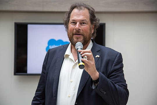 Salesforce : un bénéfice net annuel d'un demi-milliard de dollars