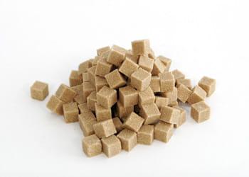 un euro = 500 g de sucre en morceaux