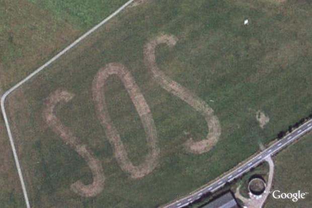 SOS dans les champs