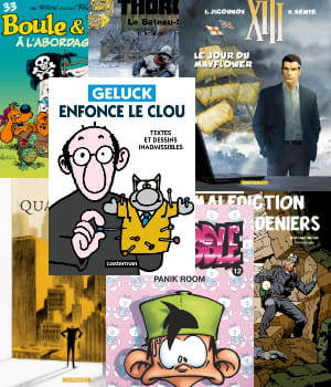 les meilleures ventes de bandes dessinées en 2011.