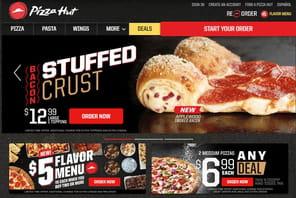 Pizza Hut : des sites web refondus pour optimiser le parcours client