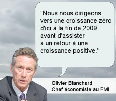 olivier blanchard, chef économiste au fmi.