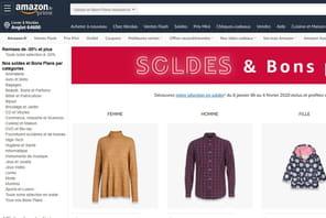 Audiences Web: Amazon prend la 5e place en France