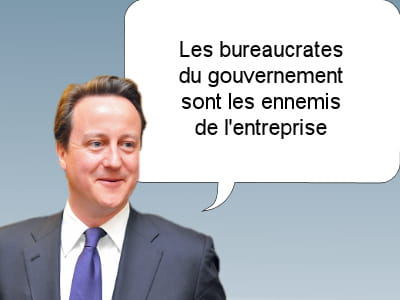 david cameron, premier ministre britannique, le 5 mars 2011.