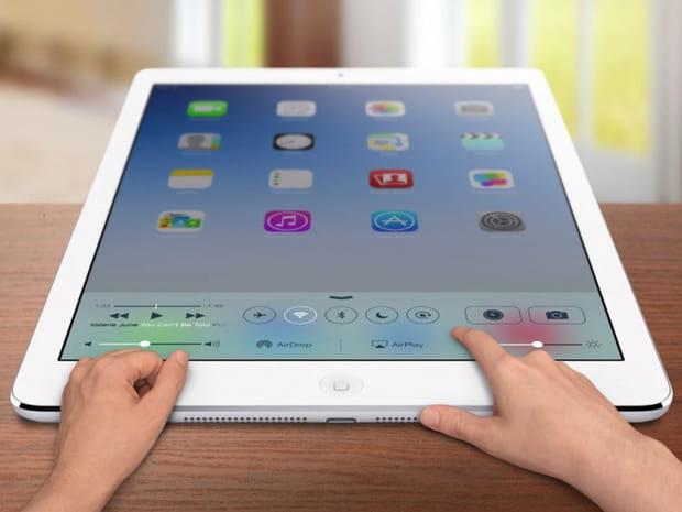 Un iPad plus grand que grand