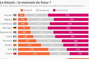 Les Européens sceptiques sur l'avenir des monnaies virtuelles