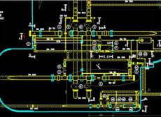 le travail de scanner laser permet de créer ou de compléter les plans en deux