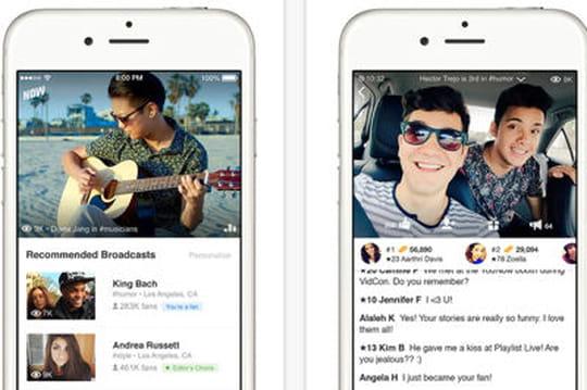 YouNow, l'appli de livestream vidéo qui se fait une place entre Periscope etMeerkat