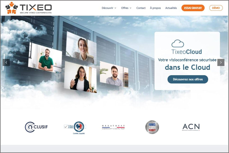 Tixeo: la visioconférence à la française ultra-sécurisée