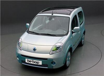 la future voiture électrique de chez renault