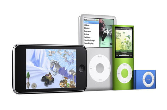 Place aux nouveaux iPod !