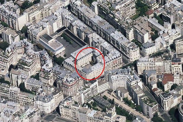 10e ex aequo : Lycée Saint-Jean de Passy (Paris), 8661€ le m²