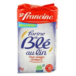 la farine de blé au lin de francine.