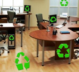les occasions de faire un geste écologique au bureau ne manquent pas.