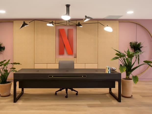 Plongée dans les nouveaux locaux de Netflix à Paris