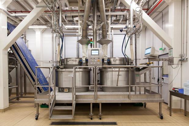 Une cadence de 3600 kilos de pain à l'heure