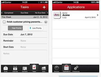 good for enterprise est disponible dans les boutiques d'applications d'ios et