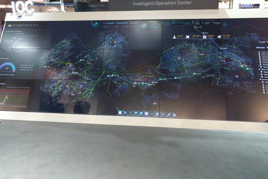 À la Smart City Expo, le centre de commande devient le cerveau de la ville