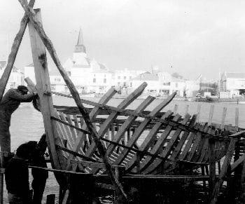 sur les chantiers de croix de vie au début du siècle.