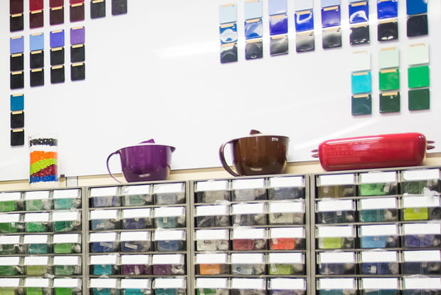 Unique centre de R&D en couleur