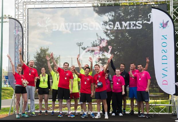 Des Davidson Games nés d'une idée d'un collaborateur