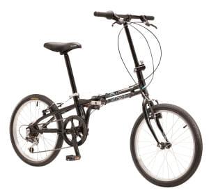 le vélo pliable nakamura d'intersport.