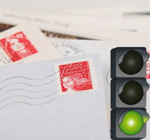 le budget timbre a diminué de 40% par rapport à l'année 2009.