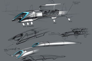 "L'Hyperloop, le train qui ""roulera"" à 1 200 à l'heure"