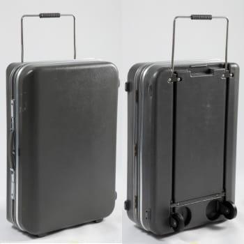 la valise trolley airstyle de delsey en 1972.