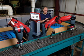 1rethink robotics baxter w person courtesy of rethink robotics, inc