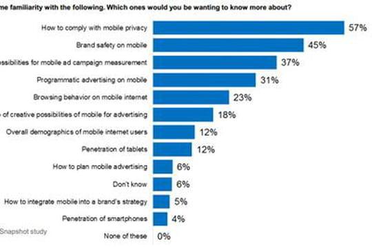 La brand safety et la privacy, principaux enjeux du déploiement de la publicité mobile selon l'IAB Europe