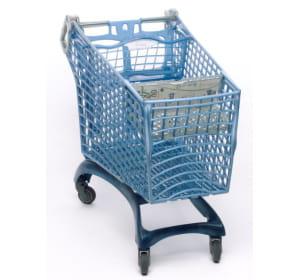 ce chariot est fabriqué avec 250 bouteilles de plastique recyclées.