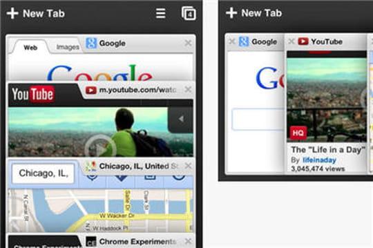 Google Chrome disponible pour iOS7: les nouveautés