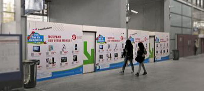 Altarea Cogedim crée des shopping walls RueduCommerce en gares
