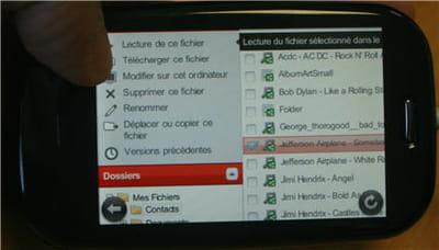 l'accès à ses documents en ligne depuis un mobile