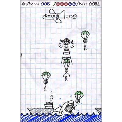 sauvez les parachutistes
