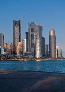 une économie florissante pour le qatar.