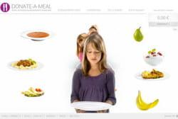 le mini-site donate-a-meal.com