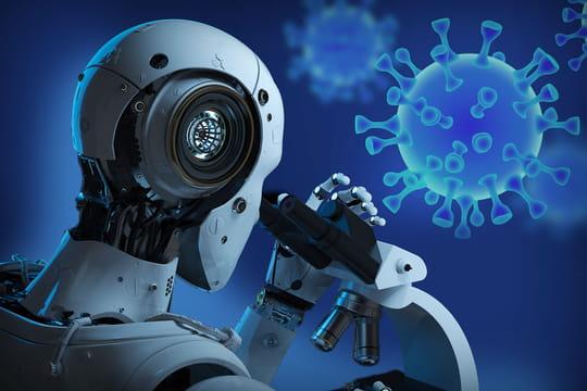 L'IA française part à la chasse au coronavirus