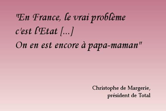 Christophe de Margerie, libéral