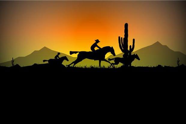 Des cowboys sous le soleil