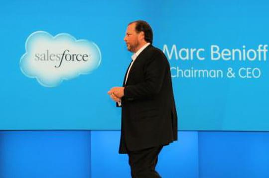 Résultats trimestriels de Salesforce : pertes en baisse, CA en hausse