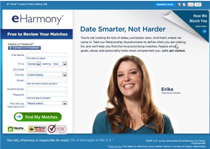 EHarmony sites de rencontre commentaires